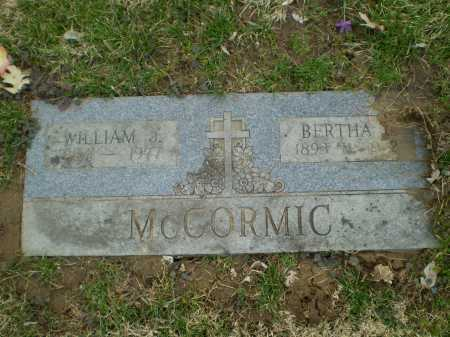 MC CORMIC, BERTHA C - Douglas County, Nebraska | BERTHA C MC CORMIC - Nebraska Gravestone Photos