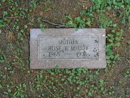MC COY, ROSE B - Douglas County, Nebraska   ROSE B MC COY - Nebraska Gravestone Photos