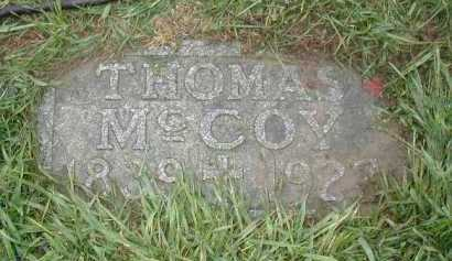 MC COY, THOMAS - Douglas County, Nebraska | THOMAS MC COY - Nebraska Gravestone Photos