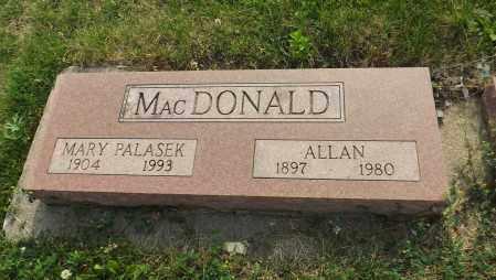 MAC DONALD, MARY - Douglas County, Nebraska | MARY MAC DONALD - Nebraska Gravestone Photos