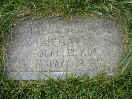 MC GAVIC, FERRY DORCAS - Douglas County, Nebraska   FERRY DORCAS MC GAVIC - Nebraska Gravestone Photos