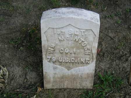 MC INTOSH, WILLIAM - Douglas County, Nebraska   WILLIAM MC INTOSH - Nebraska Gravestone Photos