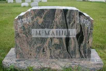 MC MAHILL, FAMILY - Douglas County, Nebraska | FAMILY MC MAHILL - Nebraska Gravestone Photos