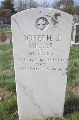 MILLER, JOSEPH J. - Douglas County, Nebraska | JOSEPH J. MILLER - Nebraska Gravestone Photos