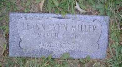 MILLER, LEANN LYNN - Douglas County, Nebraska | LEANN LYNN MILLER - Nebraska Gravestone Photos