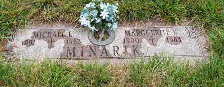 MINARIK, MARGUERITE - Douglas County, Nebraska | MARGUERITE MINARIK - Nebraska Gravestone Photos