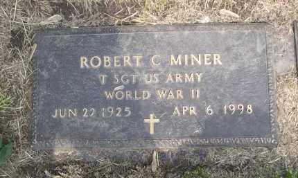 MINER, ROBERT C. - Douglas County, Nebraska | ROBERT C. MINER - Nebraska Gravestone Photos