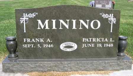 MININO, PATRICIA L. - Douglas County, Nebraska | PATRICIA L. MININO - Nebraska Gravestone Photos
