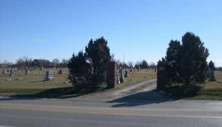 *MOUNT AUBURN CEMETERY, ENTRANCE TO - Douglas County, Nebraska   ENTRANCE TO *MOUNT AUBURN CEMETERY - Nebraska Gravestone Photos
