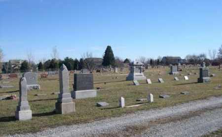 *MOUNT AUBURN CEMETERY, VIEW OF - Douglas County, Nebraska | VIEW OF *MOUNT AUBURN CEMETERY - Nebraska Gravestone Photos