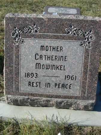 MOWINKEL, CATHERINE - Douglas County, Nebraska | CATHERINE MOWINKEL - Nebraska Gravestone Photos