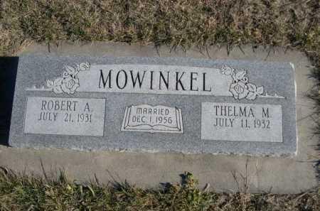 MOWINKEL, ROBERT A. - Douglas County, Nebraska | ROBERT A. MOWINKEL - Nebraska Gravestone Photos