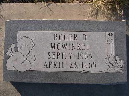 MOWINKEL, ROGER D. - Douglas County, Nebraska | ROGER D. MOWINKEL - Nebraska Gravestone Photos