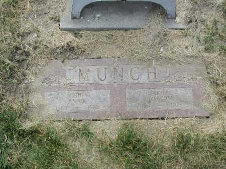 MUNCH, ANNA - Douglas County, Nebraska | ANNA MUNCH - Nebraska Gravestone Photos