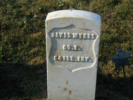 MYERS, DAVID - Douglas County, Nebraska   DAVID MYERS - Nebraska Gravestone Photos