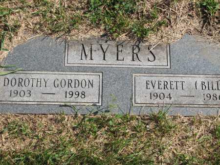 GORDON MYERS, DOROTHY - Douglas County, Nebraska | DOROTHY GORDON MYERS - Nebraska Gravestone Photos