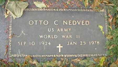 NEDVED, OTTO C - Douglas County, Nebraska | OTTO C NEDVED - Nebraska Gravestone Photos