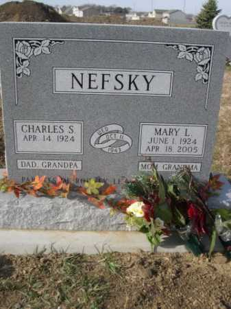 NEFSKY, MARY L. - Douglas County, Nebraska | MARY L. NEFSKY - Nebraska Gravestone Photos