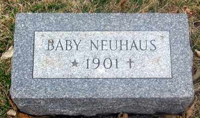 NEUHAUS, BABY - Douglas County, Nebraska | BABY NEUHAUS - Nebraska Gravestone Photos
