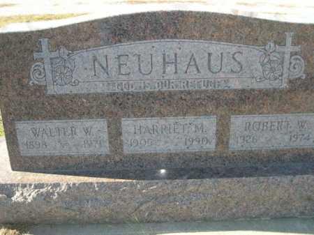 NEUHAUS, HARRIET M. - Douglas County, Nebraska   HARRIET M. NEUHAUS - Nebraska Gravestone Photos