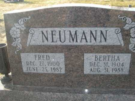 NEUMANN, FRED - Douglas County, Nebraska | FRED NEUMANN - Nebraska Gravestone Photos