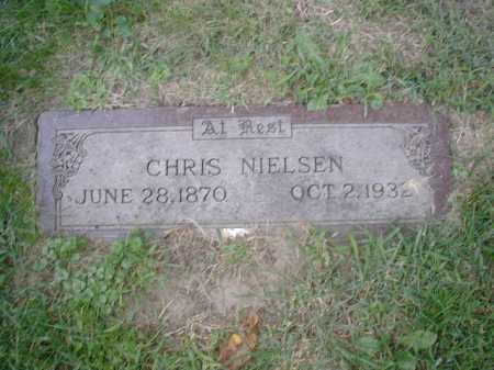 NIELSEN, CHRIS - Douglas County, Nebraska | CHRIS NIELSEN - Nebraska Gravestone Photos