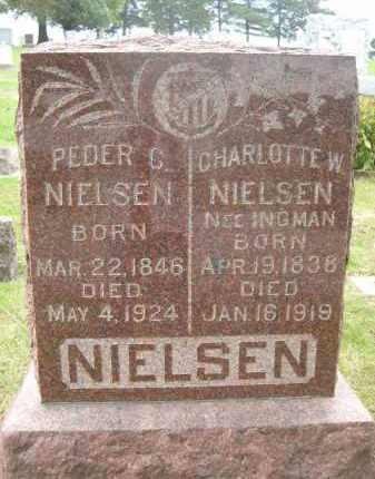NIELSEN, CHARLOTTE W. - Douglas County, Nebraska | CHARLOTTE W. NIELSEN - Nebraska Gravestone Photos