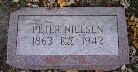 NIELSEN, PETER - Douglas County, Nebraska   PETER NIELSEN - Nebraska Gravestone Photos