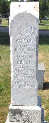 NOLAN, ANNIE - Douglas County, Nebraska | ANNIE NOLAN - Nebraska Gravestone Photos