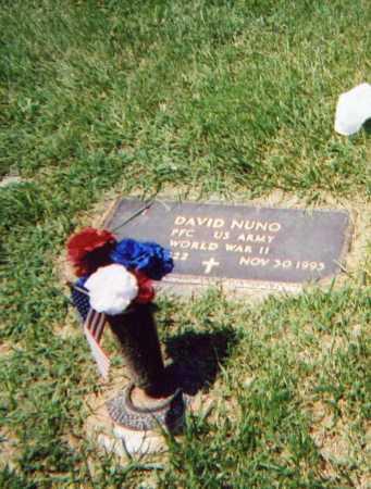 NUNO, DAVID - Douglas County, Nebraska | DAVID NUNO - Nebraska Gravestone Photos