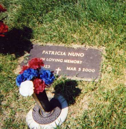 NUNO, PATRICIA - Douglas County, Nebraska   PATRICIA NUNO - Nebraska Gravestone Photos
