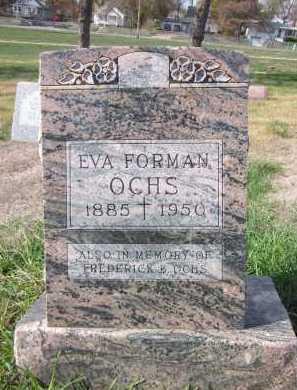 OCHS, EVA - Douglas County, Nebraska | EVA OCHS - Nebraska Gravestone Photos