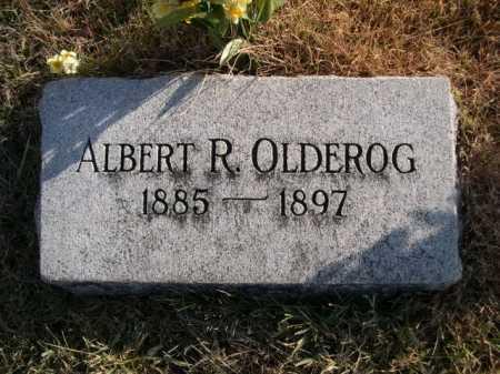 OLDEROG, ALBERT R. - Douglas County, Nebraska   ALBERT R. OLDEROG - Nebraska Gravestone Photos