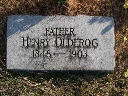 OLDEROG, HENRY - Douglas County, Nebraska   HENRY OLDEROG - Nebraska Gravestone Photos
