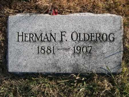 OLDEROG, HERMAN F. - Douglas County, Nebraska | HERMAN F. OLDEROG - Nebraska Gravestone Photos
