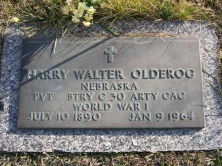 OLDEROG, HARRY WALTER - Douglas County, Nebraska | HARRY WALTER OLDEROG - Nebraska Gravestone Photos
