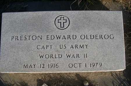 OLDEROG, PRESTON EDWARD - Douglas County, Nebraska | PRESTON EDWARD OLDEROG - Nebraska Gravestone Photos
