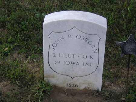 OSBORN, JOHN R - Douglas County, Nebraska | JOHN R OSBORN - Nebraska Gravestone Photos