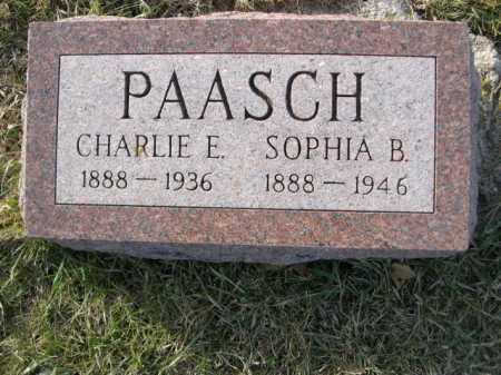 PAASCH, CARLIE E. - Douglas County, Nebraska | CARLIE E. PAASCH - Nebraska Gravestone Photos