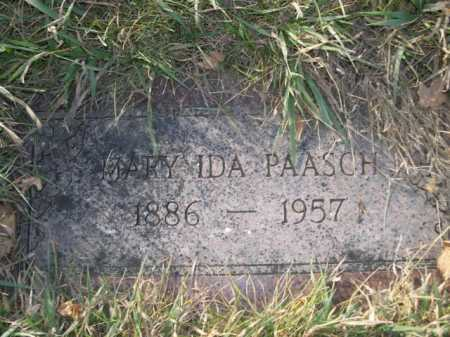 PAASCH, MARY IDA - Douglas County, Nebraska | MARY IDA PAASCH - Nebraska Gravestone Photos