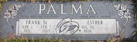 PALMA SR, FRANK - Douglas County, Nebraska   FRANK PALMA SR - Nebraska Gravestone Photos