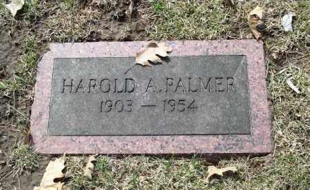 PALMER, HAROLD A. - Douglas County, Nebraska   HAROLD A. PALMER - Nebraska Gravestone Photos