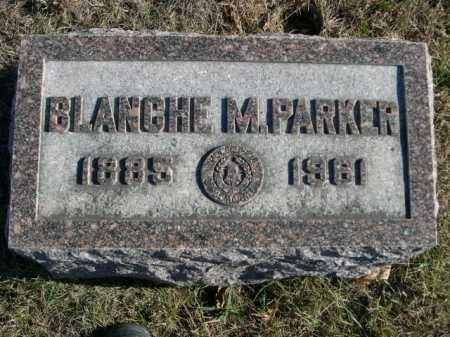 PARKER, BLANCHE M. - Douglas County, Nebraska | BLANCHE M. PARKER - Nebraska Gravestone Photos
