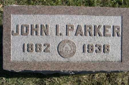 PARKER, JOHN I. - Douglas County, Nebraska | JOHN I. PARKER - Nebraska Gravestone Photos