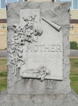 PARKS, CATHERINE - Douglas County, Nebraska | CATHERINE PARKS - Nebraska Gravestone Photos