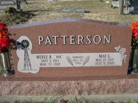 PATTERSON, MAE L. - Douglas County, Nebraska | MAE L. PATTERSON - Nebraska Gravestone Photos