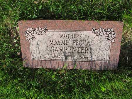 CARPENTER PECHA, MAYME - Douglas County, Nebraska | MAYME CARPENTER PECHA - Nebraska Gravestone Photos
