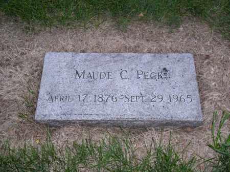 PECK, MAUDE C. - Douglas County, Nebraska | MAUDE C. PECK - Nebraska Gravestone Photos