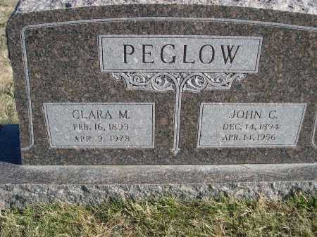PEGLOW, CLARA M. - Douglas County, Nebraska | CLARA M. PEGLOW - Nebraska Gravestone Photos