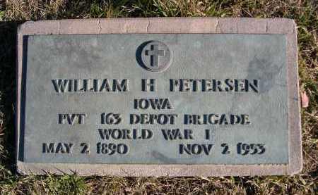 PETERSEN, WILLIAM H. - Douglas County, Nebraska | WILLIAM H. PETERSEN - Nebraska Gravestone Photos